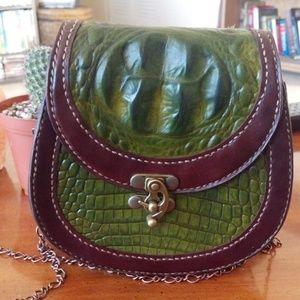 Handmade Leather handbag!
